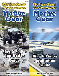 Motive Gear Application Guide