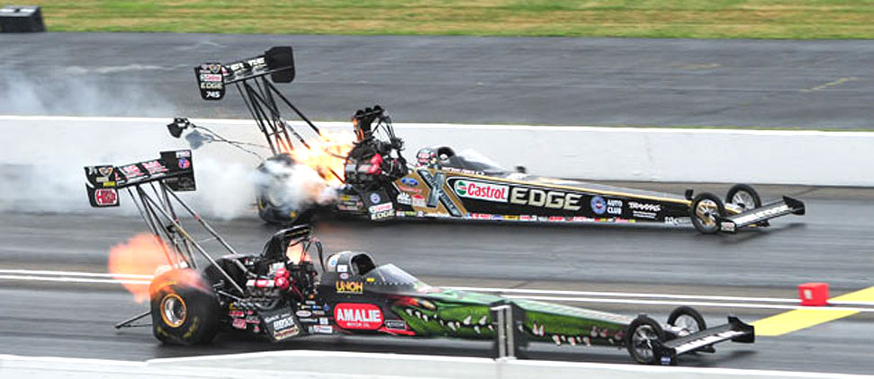 Top Fuel drag racer Terry McMillen